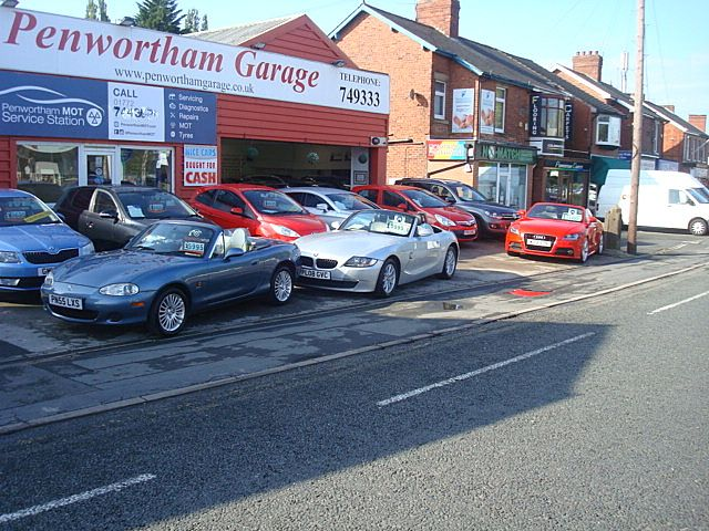 We Buy Cars at Penwortham Garage